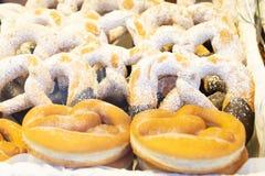 Krapfen waem sweet cake stock photography