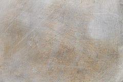 Kras op Staal voor Patroon en Achtergrond Stock Foto's
