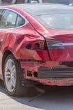 Krascha bilen Royaltyfri Bild