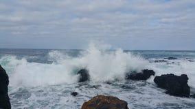 Krascha för vågor arkivfoto