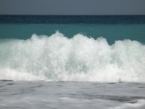 krascha kustwave arkivfoton