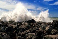krascha kustwaves Arkivbilder