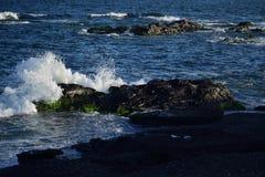 Krascha vågor, Vera, Spanien royaltyfria bilder