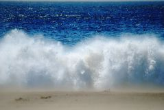 krascha wave arkivbild