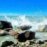 krascha waves arkivbilder