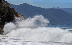 3 krascha waves Royaltyfri Bild