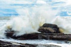 krascha waves Royaltyfria Foton