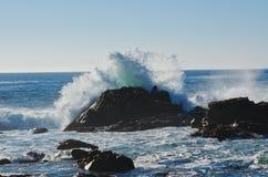 krascha waves Royaltyfria Bilder