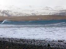 krascha waves för kust stock video