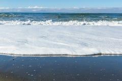 krascha waves för strand Fotografering för Bildbyråer