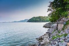 Krasiaw Dam. Suphan Buri Thailand Stock Image