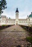 Krasiczyn, Poland - July 17, 2016: Renaissance castle in Krasicz Royalty Free Stock Photos
