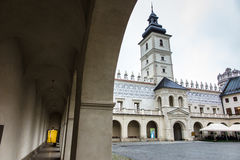 Krasiczyn, Poland - July 17, 2016: Renaissance castle in Krasicz Royalty Free Stock Image