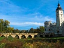 Free Krasiczyn, Poland - October 11, 2013: Krasiczyn Castle - Beautiful Renaissance Palace In Poland. Royalty Free Stock Image - 135563626