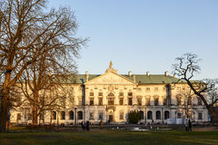 Krasinski Palace in Warsaw Stock Photography