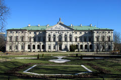 Krasinski Palace, Warsaw, Poland Royalty Free Stock Photo