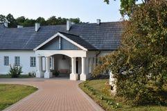 Krasinski Villa im Zloty Potok, Polen Lizenzfreies Stockfoto