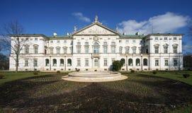 Krasinskich宫殿在华沙 免版税库存图片