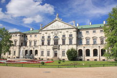 Krasinskis pałac w Warszawa obrazy royalty free