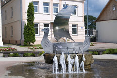 Kraslava. A small town in Latvia Royalty Free Stock Photography