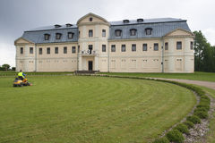 Kraslavas新的宫殿 免版税库存图片