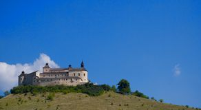 The Krasna Horka Castle. Royalty Free Stock Photos