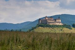 The Krasna Horka Castle. Royalty Free Stock Images