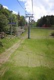 Krasnaya Polyana cableway Zdjęcie Royalty Free