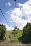 Krasnaya Polyana cableway Zdjęcie Stock