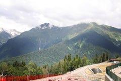 Krasnaya Polyana caucase Image libre de droits