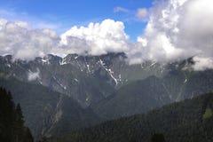 Krasnaya Polyana caucase Photos libres de droits