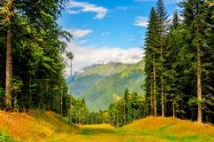 Krasnaya Polyana Ski Resort, Sotchi, Russie photo libre de droits