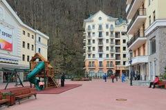 Krasnaya Polyana Stock Images