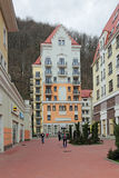 Krasnaya Polyana Royalty Free Stock Photography