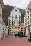 Krasnaya Polyana royalty free stock photography
