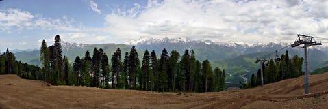 Krasnaya Polyana, stora Sochi royaltyfri fotografi