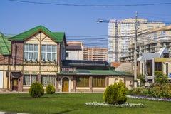 Krasnih partizan  street in  Krasnodar Royalty Free Stock Images