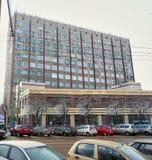 Krasnoarmeysky aleja, dom 7, Tula, Rosja, Styczeń, 31, 2015: Międzynarodowy centrum biznesu Fotografia Royalty Free