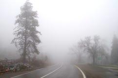 krasnodar山区域路俄国 库存照片