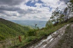 krasnodar山区域路俄国 库存图片