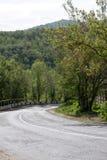 krasnodar δρόμος Ρωσία περιοχών βουνών Στοκ Εικόνες