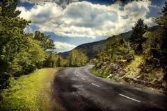 krasnodar δρόμος Ρωσία περιοχών βουνών στοκ εικόνα με δικαίωμα ελεύθερης χρήσης