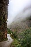 krasnodar δρόμος Ρωσία περιοχών βουνών Στοκ Φωτογραφίες