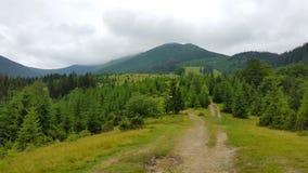 krasnodar δρόμος Ρωσία περιοχών βουνών Στοκ Εικόνα