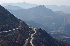 krasnodar дорога Россия зоны горы Стоковая Фотография RF