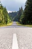 krasnodar дорога Россия зоны горы Стоковые Фотографии RF
