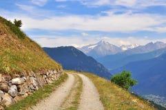 krasnodar дорога Россия зоны горы Стоковые Изображения