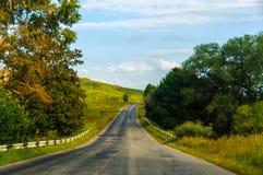 krasnodar bergregionväg russia Royaltyfria Foton