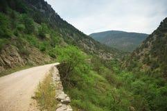 krasnodar bergregionväg russia Fotografering för Bildbyråer