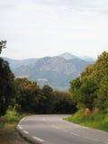 krasnodar bergregionväg russia Korsika ö, Frankrike Royaltyfri Foto